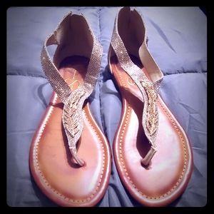 Jessica Simpson adorable zip back sandal